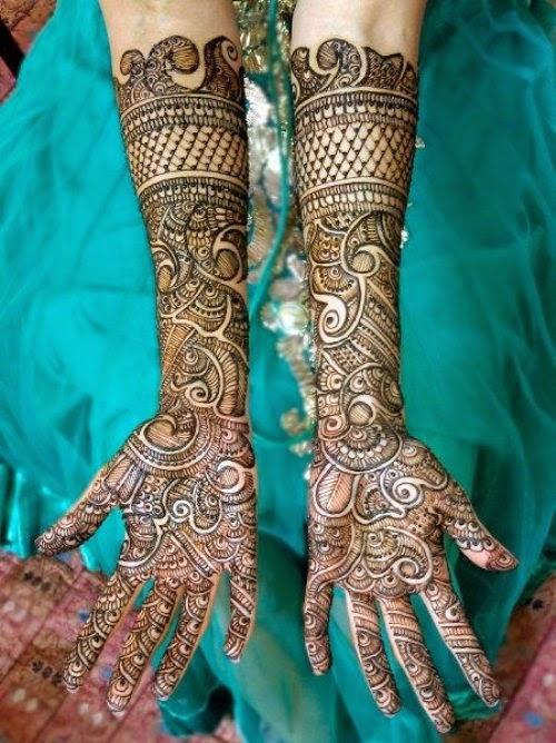 Mehndi Designs Dulhan : Dulhan mehndi designs bridal
