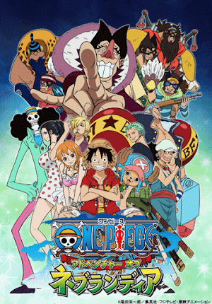 One Piece: Adventure Of Nebulandia (2015) Subtitle Language English Indonesian Mp4
