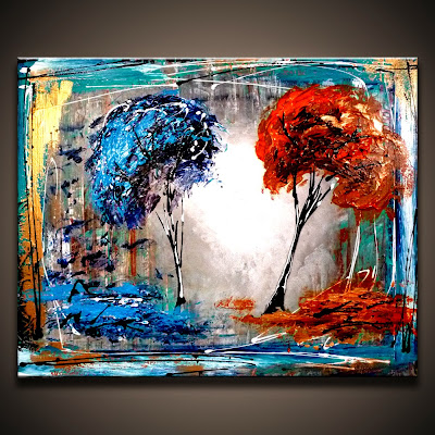 Abstract art modern painting techniques by dranitsin for Nice acrylic paintings