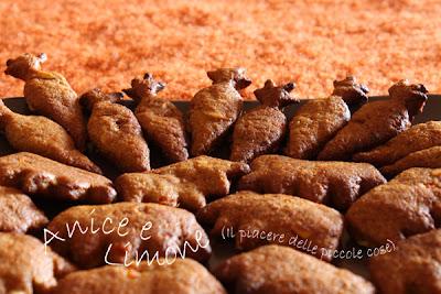 biscottini di kamut con carote e mandorle