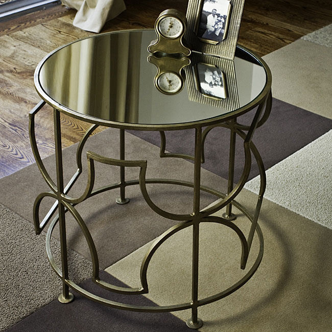 Romy Square Metal Coffee Table Am Pm: Design Dump: Affordable Find: Iron Side Table