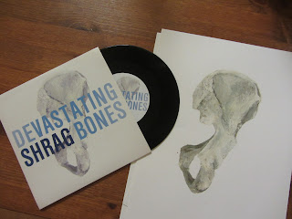 Shrag-Devastating Bones cover art by michael cosimini