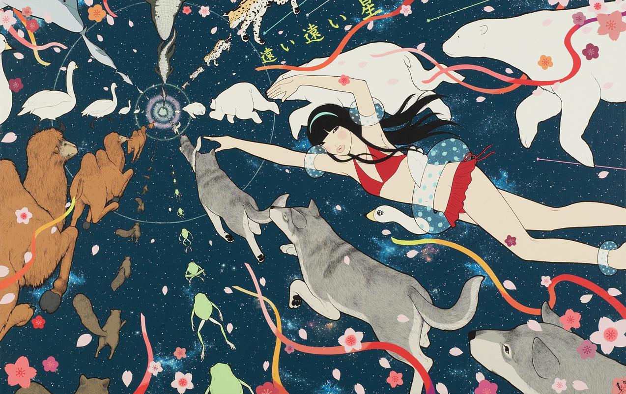 Japanese artist Yumiko Kayukawa reviewed by Yellowmenace
