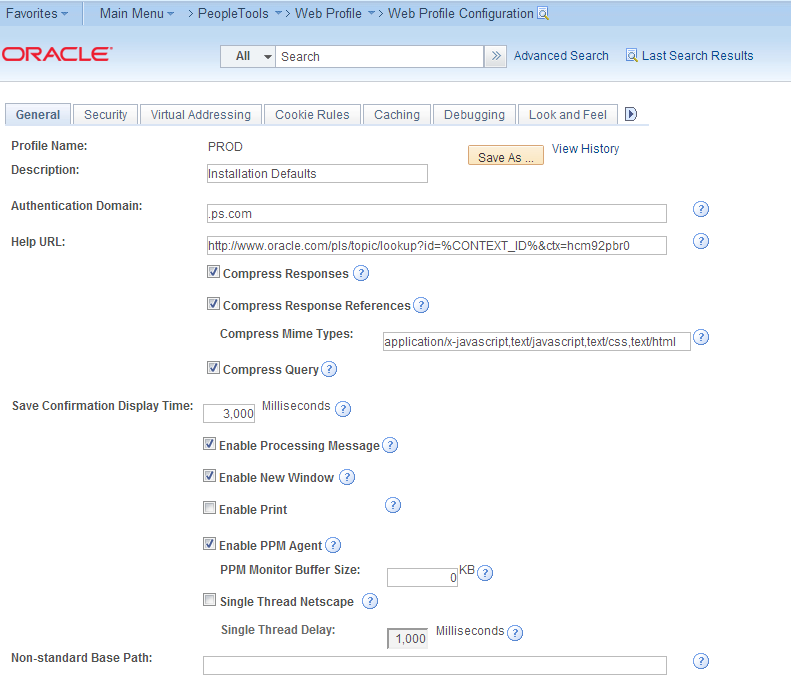 Hakan biroglu installing peoplesoft 92 pre build virtual machine on the used web profile i have added the authentication domain and the peoplesoft help url to the hosted peoplebooks the documentation states the ccuart Images