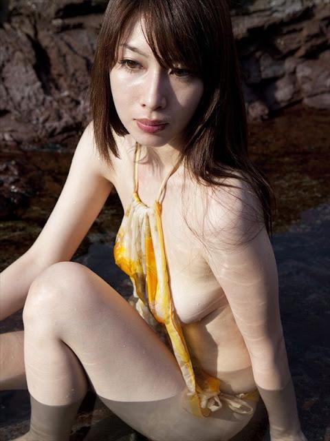 Japanese Gravure Model Kobayashi Emi