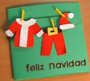 Ingeniosas navidades - Como hacer tarjetas de navidad faciles ...