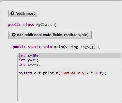 jdoodle java compiler