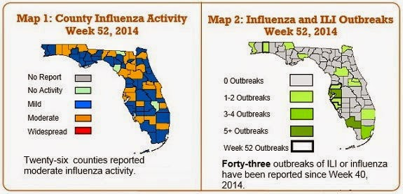 Florida Flu Map
