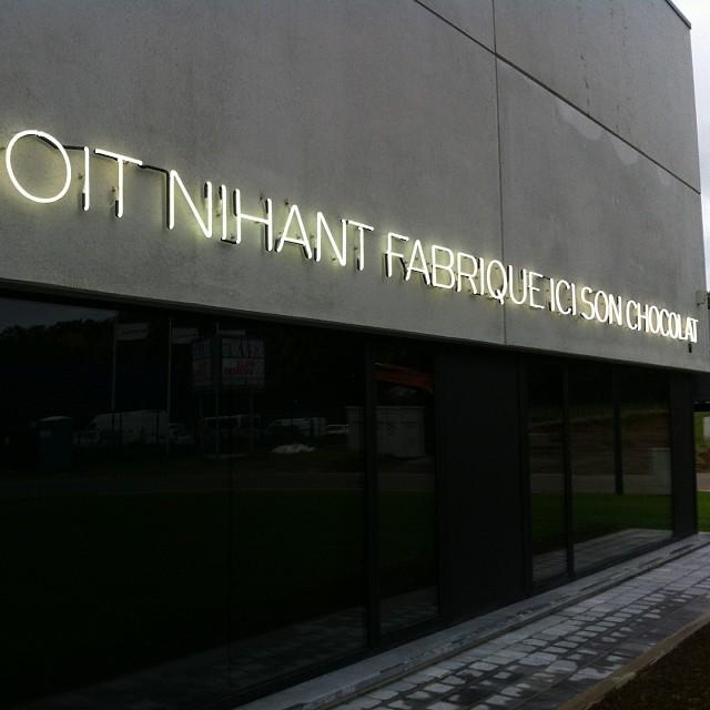 Nouvel atelier Benoit Nihant Awans