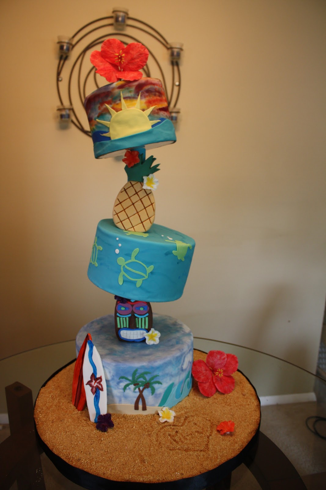 Sweet Eats Cakes Hawaiian Luau