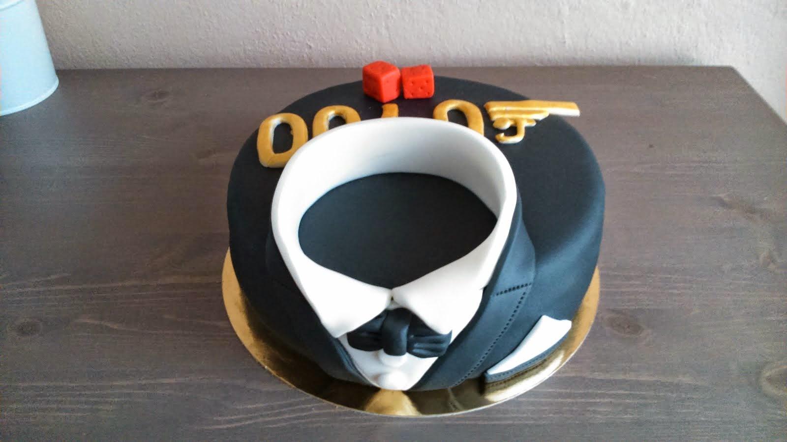 Torta James Bond