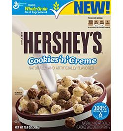 Hershey's Cookies N' Creme Cereal