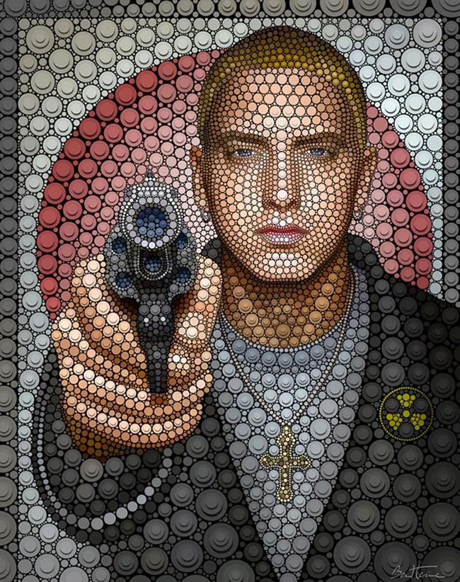 Benjamin Heine, Digital Circlism, Eminem