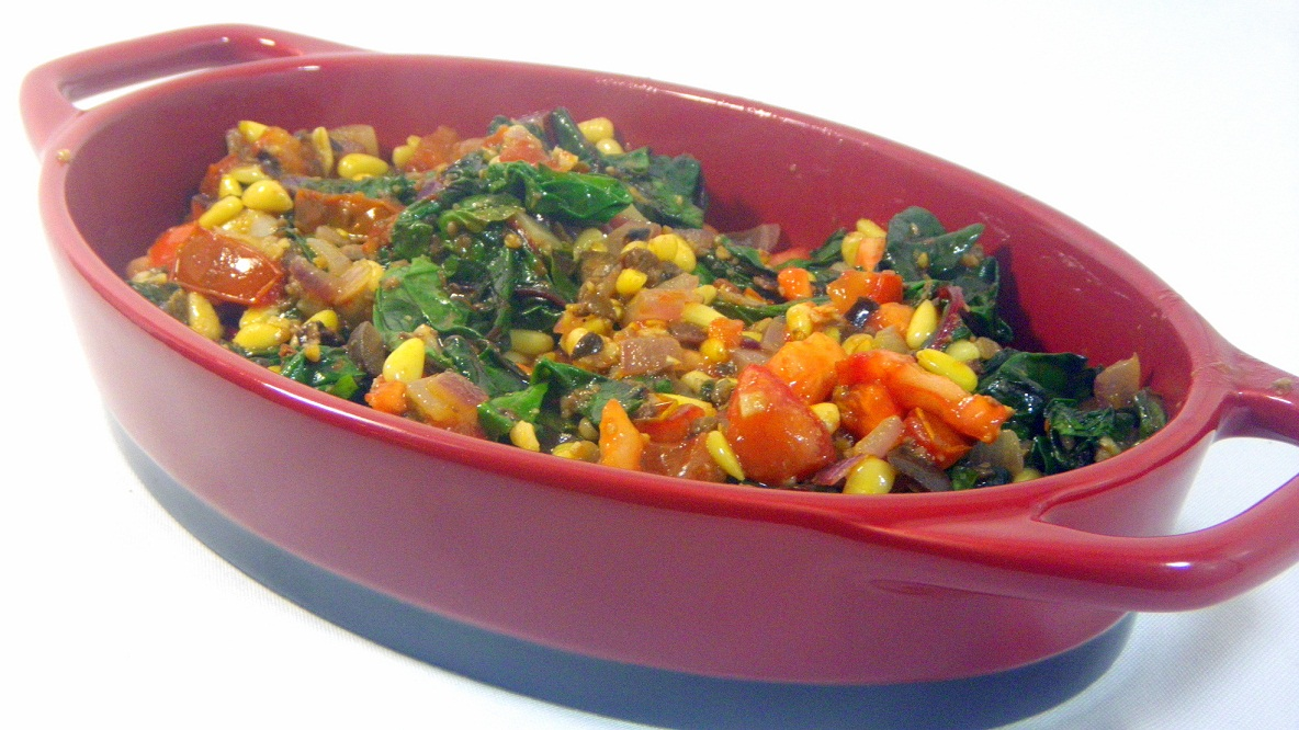 52 Ways to Cook: Swiss Chard with Tomatoes , Pine Nuts and ...