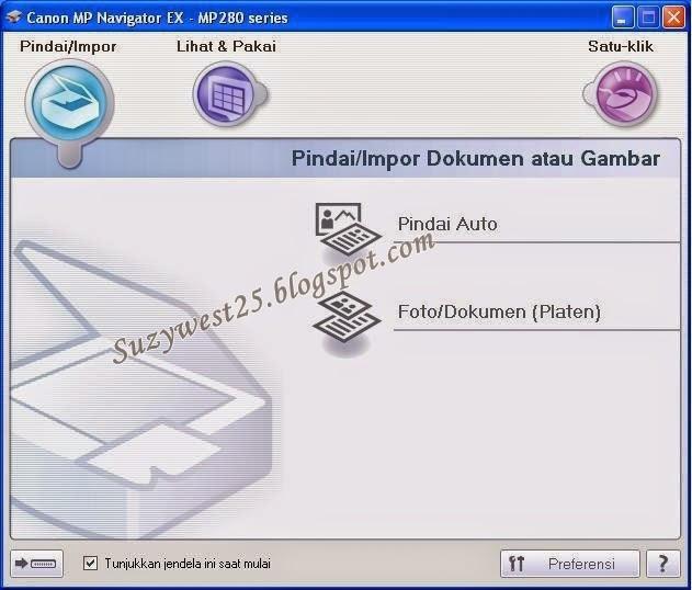 CARA MEMBUAT SHORTCUT CANON MP NAVIGATOR EX 4.0