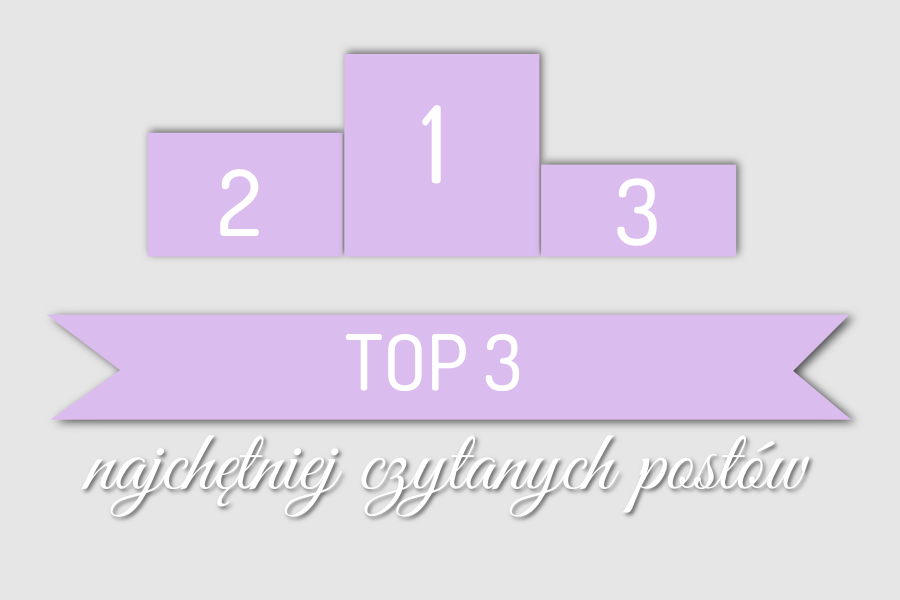 Top 3 najchętniej czytanych postów w maju