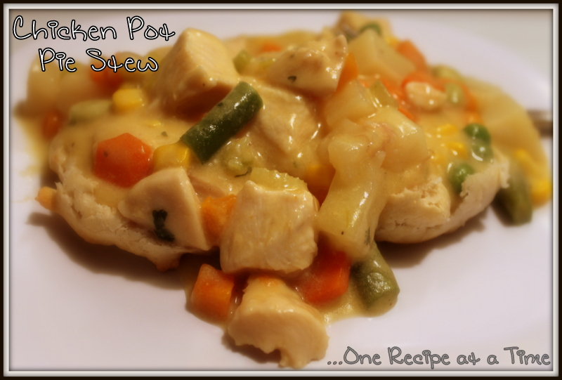 Learning the Ropes...One Recipe at a Time: Chicken Pot Pie ...