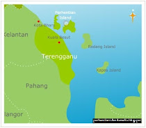 map of perhentian island