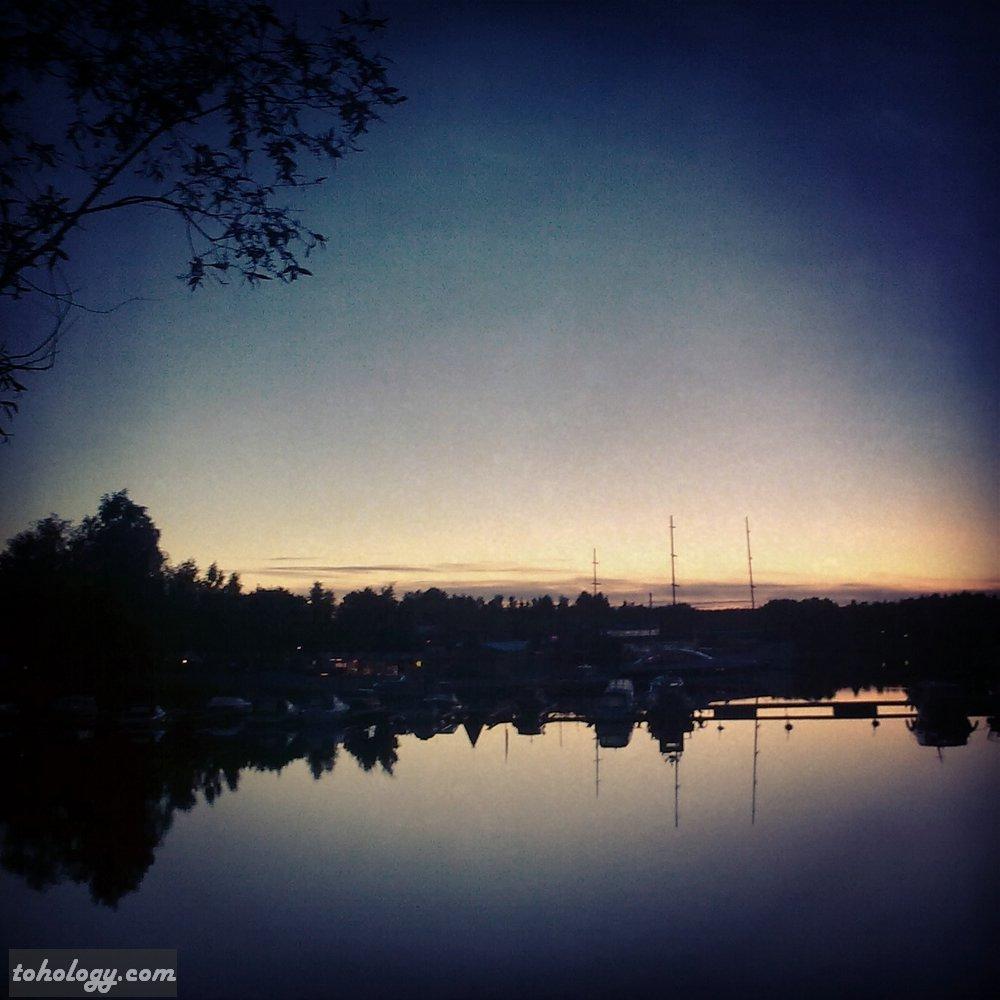 Harbor after the Mikkelin Soikoon festival