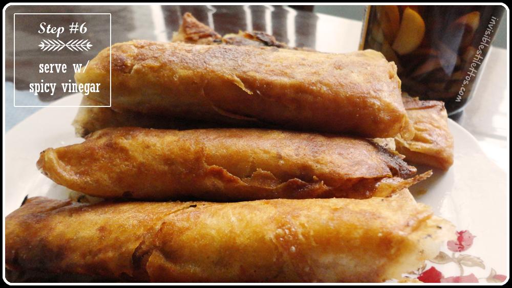 Lumpiang Gulay (Vegetable Roll)