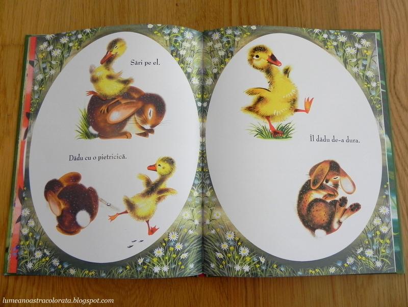Uite ce-a ieșit din ou de Margaret Wise Brown, editura Cartea Copiilor