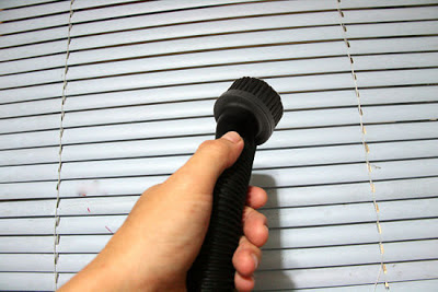 Truco limpiar persianas hogar