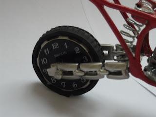 Motocross de moto miniatura