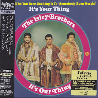 ISLEY BROTHERS - IT'S OUR THING (T-NECK 1969) Jap mastering cardboard sleeve