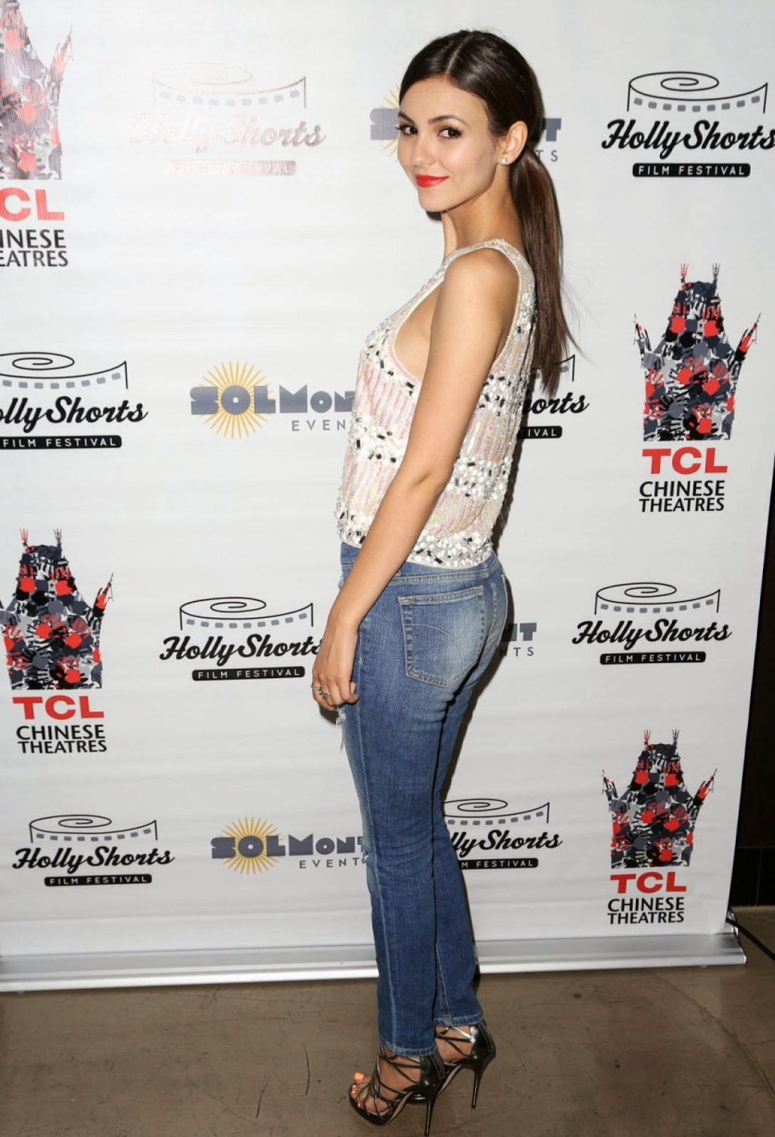 Victoria Justice at Chocolate Milk Screening In Hollywood