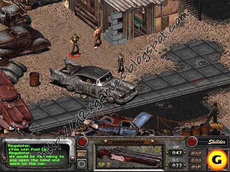 Free Download Games - Fallout 2