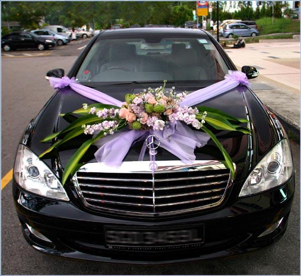 Réussir son mariage: La voiture des mariés