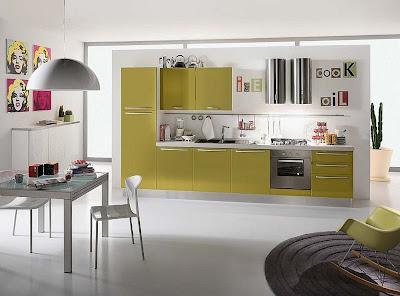Contoh model kitchen set minimalis
