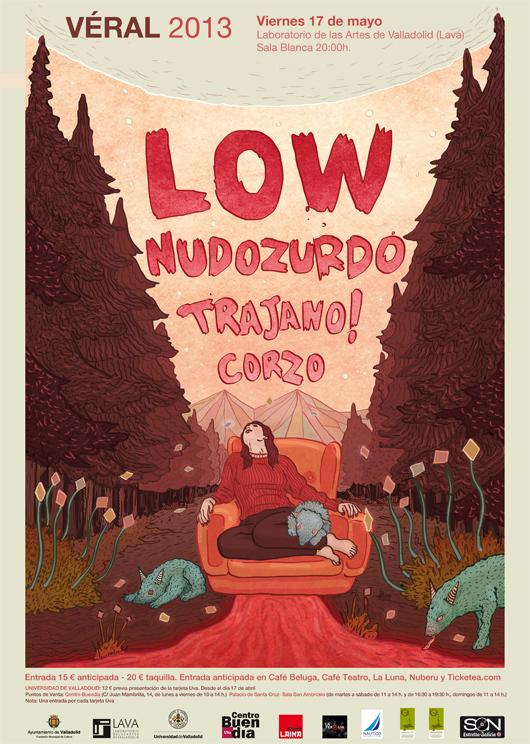 Veral 2013 Low, Nudozurdo, Trajano! y Corzo