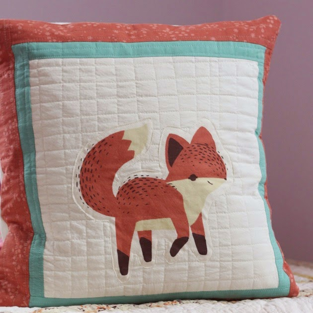 Tutorial | The Fox Says... Pillow