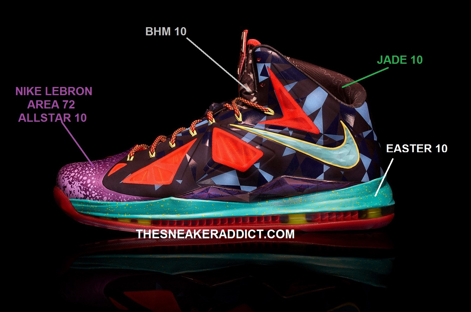 all lebron shoes 1 10. image all lebron shoes 1 10