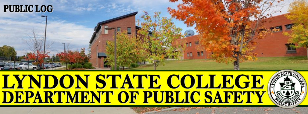 Lyndon State College Public Log