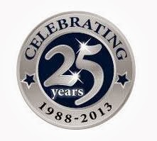 25th Anniversary Medallion for Hunter Valley Hampers