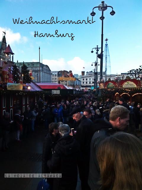 Weihnachtsmarkt, Hamburg, Alemania, Glühwein, Feuerzangenbowle, Navidad,