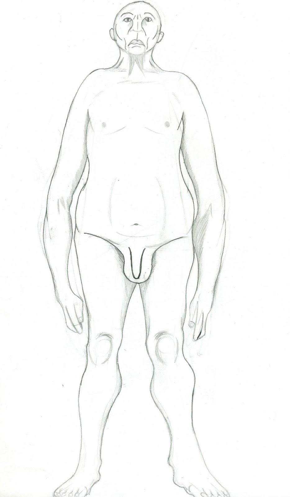 Full body drawings