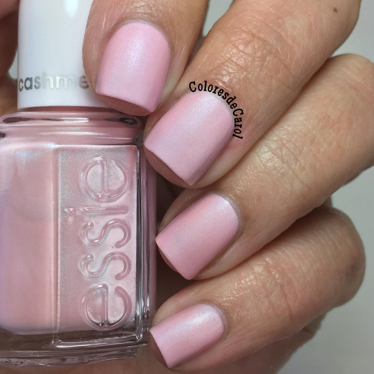Essie Matte Pink Nail Polish- HireAbility