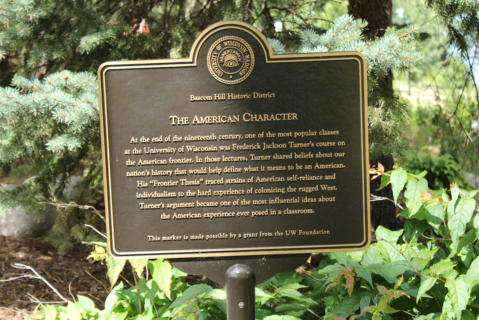 Wisconsin Historical Markers Uw Madison Bascom Hill
