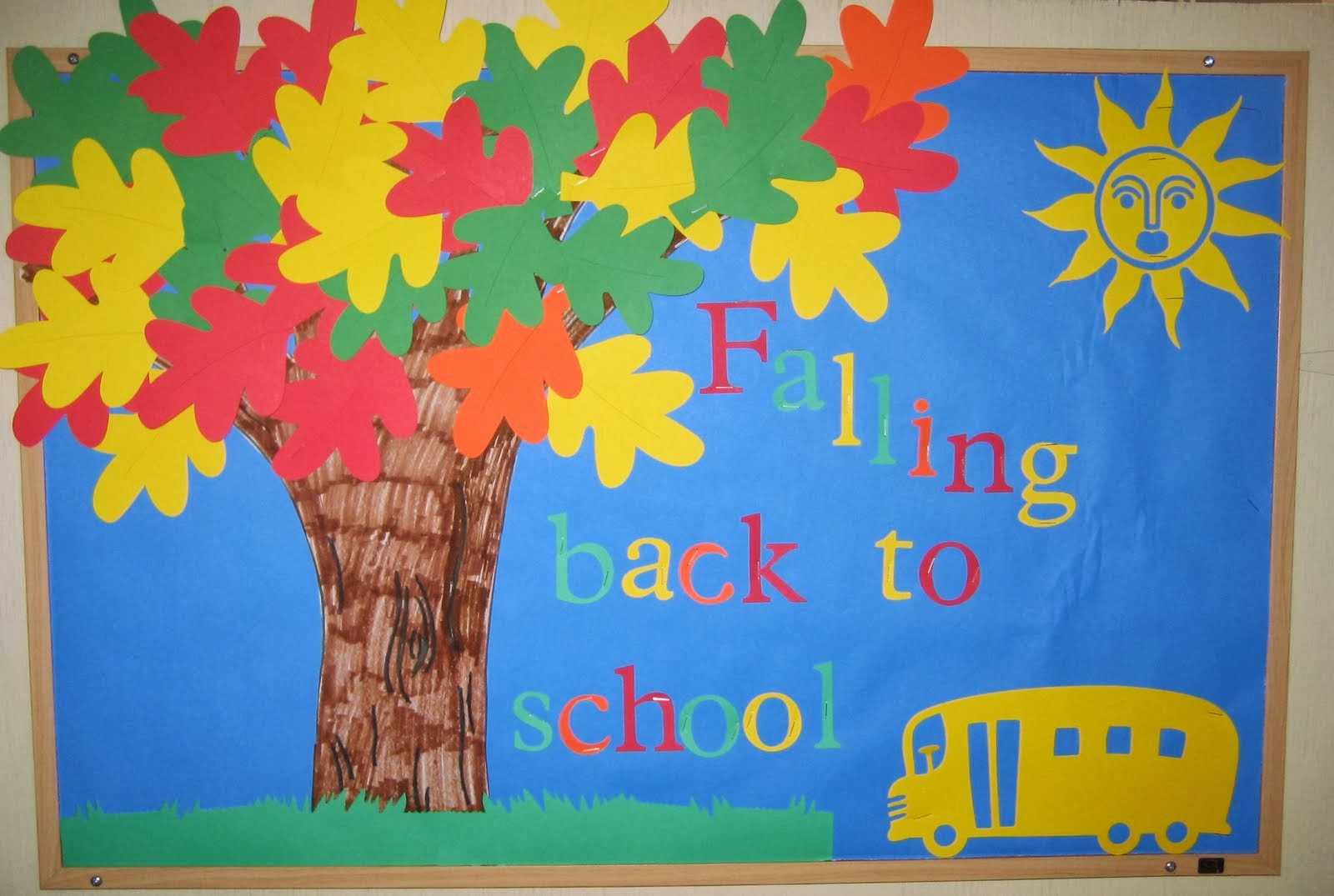 Primary education board back to school bulletin board ideas for Idea door primary 2014
