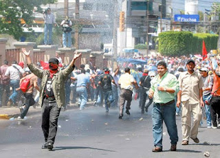 Teacher strike Honduras