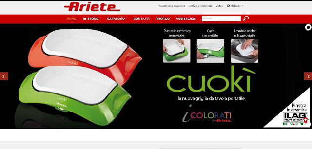 Ariete - Il leader dei piccoli elettrodomestici!! Approfitta degli Sconti Online fino al 50% - Risparmiare online