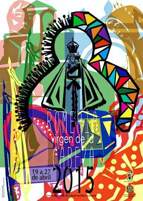 Romería de Nuestra Señora de la Cabeza - Andújar - Cartel 2015 - Yuka García