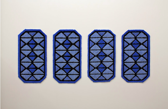 tapis de bain x 4 anthony bodin