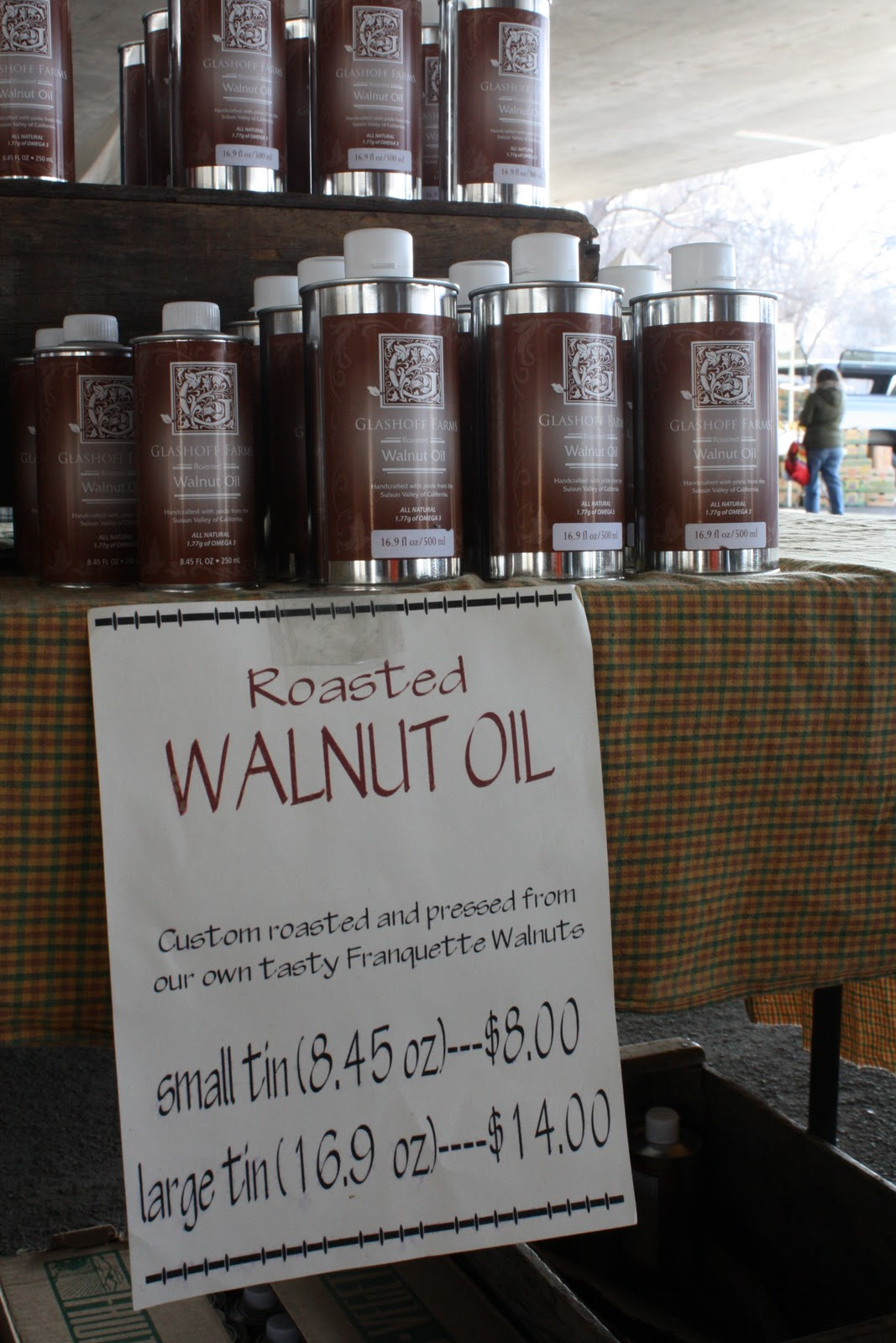 Thumbnail image for New at the Farmers' Market: Walnut Oil