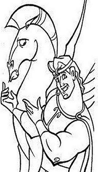 hercules coloring pages - Hercules Coloring Pages