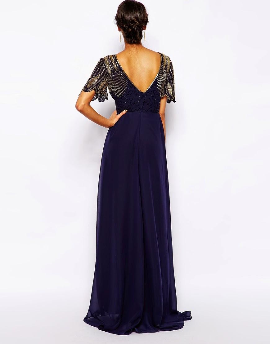 Virgos Lounge blue long dress