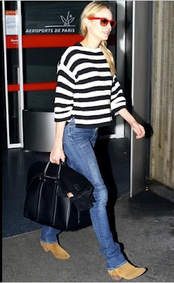 Diane Kruger Travel Airport Street Style